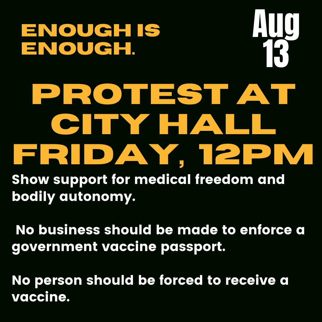 Rally for Medical Freedom