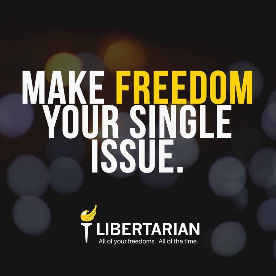 Join the party of Freedom in 2020