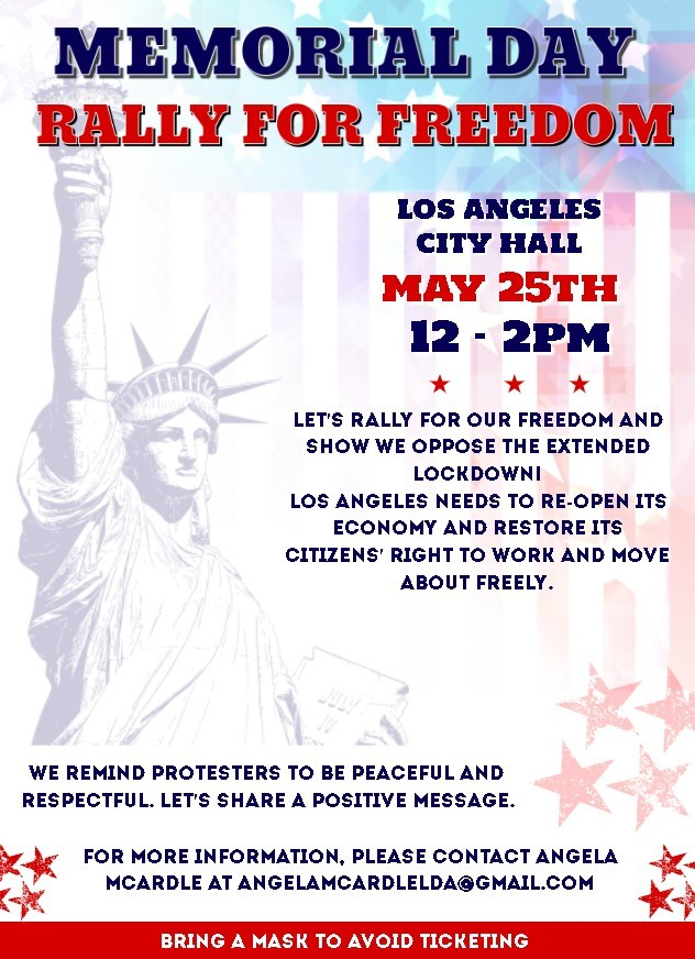 Join the Memorial Day Rally for Freedom