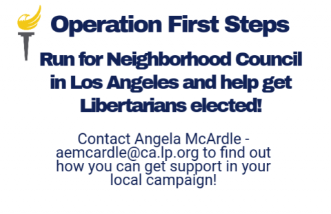 Launching Operation First Steps in Los Angeles